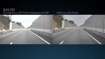 IMX390CQV Simultaneous LED Flicker Mitigation and HDR shooting.