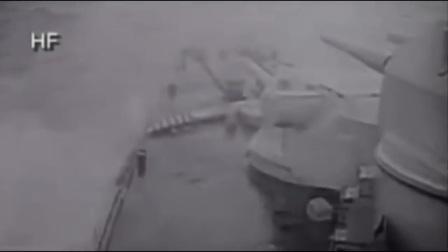 Bismarck vs Hood original WWII recordings footage HD