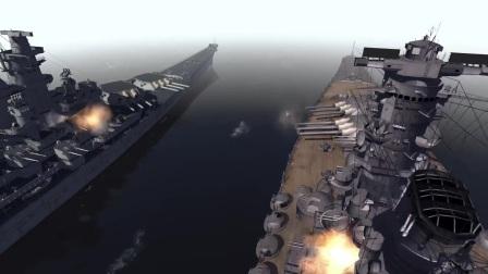 Biggest Battleship Ever Built - IJN Yamato vs USS Iowa