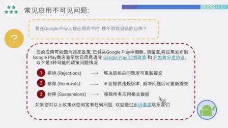 Google Play 线上训练营: App推广广告内容政策及商店排名