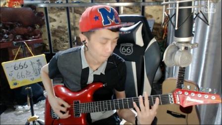 电吉他翻弹《极乐净土》YY直播ID:137698