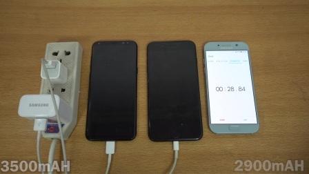 【科技微讯】充电速度测试!三星S8p 大战 iPhone 7p!