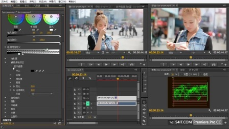 6.3 Premiere.Pro.CC.三项颜色校正器的初步学习