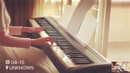 金曲库超好听的曲目《夜里》钢琴版 电钢琴