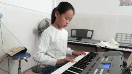 电子琴独奏《圆舞曲》(黄媛瑜)20170416
