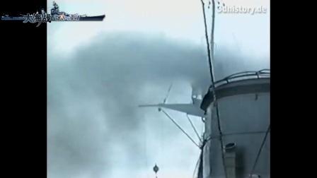 英国海军胡德号珍贵的彩色视频