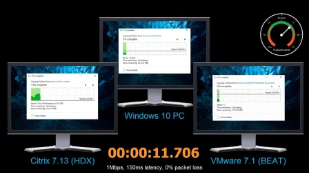 Citrix HDX vs VMware BEAT - Compare File Copy Experience