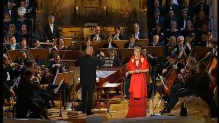 伊莉娜 葛兰嘉 天赐神粮  Elina Garanča Panis Angelicus 基督降临节音乐会 2008德累斯顿