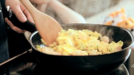《宝贝的菜》第16期:红虾黄蛋绿苗,滑嫩嫩香喷喷