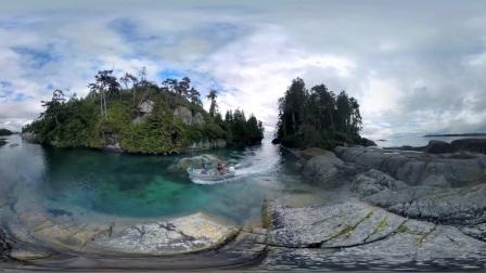 【加拿大BC省360°全景视频】大熊雨林-I 山川湖泊畅游