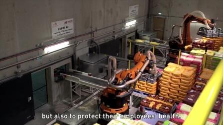 法国传统的家庭面粉厂 使用KUKA机器人(英文字幕)