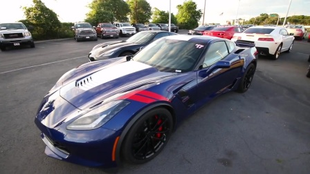 Corvette C7 Grand Sport Tire Kicking