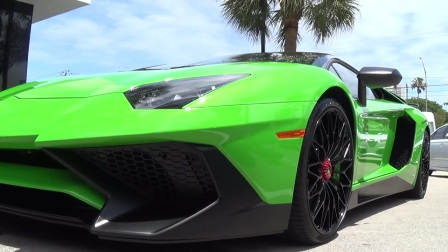 Lamborghini Aventador SV LP750-4 Start Up Drive delivery to Lamborghini Miami