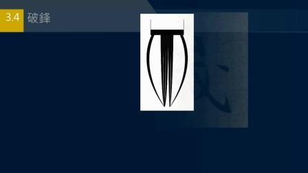黄简讲书法:初级课程16毛笔尖锋的用法﹝自学书法﹞修訂版2