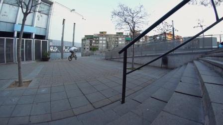 Johannes Winkelmann in Barcelona | freedombmx