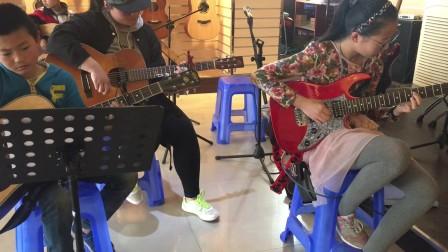 《一瞬间》吉他学员练习 合阳阳光琴行 吉他教学