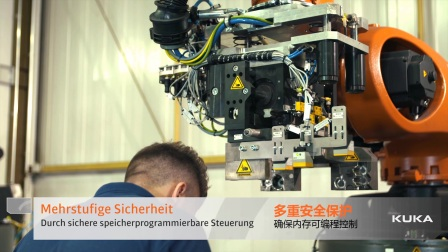 KUKA 高负载机器人为 BMW 集团研制出一套人机协作自动化解决方案