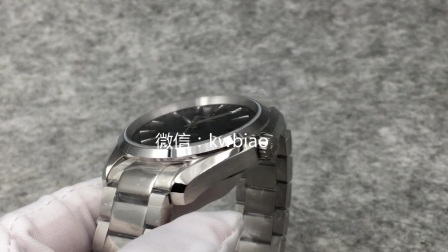 视频:外观展示,KW厂海马150M,黑面钢带,日历窗无框