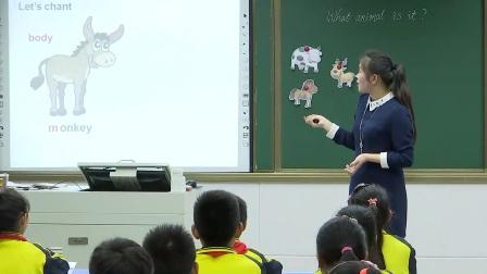 科普版小学英语四下Lesson 8 Do you have a ruler-河南何俊乐