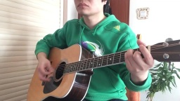 Yellow吉他弹唱