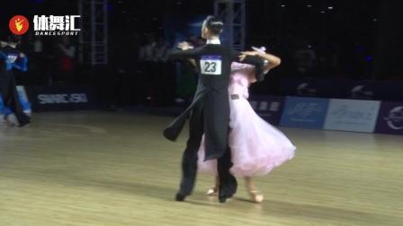 2017年中国体育舞蹈公开赛武汉站-A组标准舞决赛-维也纳华尔兹
