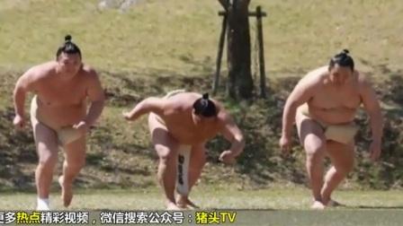 日本相扑手樱花树下拍妩媚写真 网友-想打人