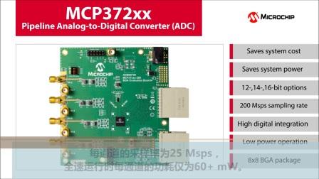 MCP372xx流水线型模数转换器