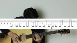 【泛音练习】牧马人乐器基础吉他教学入门第十四课