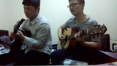 林志炫-《单身情歌》-双吉他弹唱版