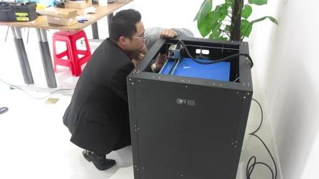 武汉智垒3D打印机快速调节平台平衡.MOV