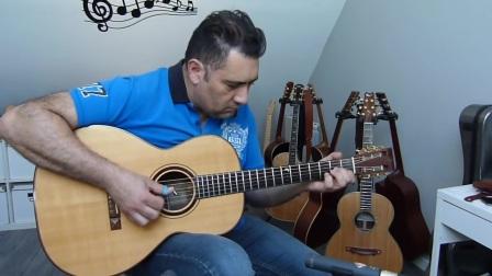 法国吉他手François Sciortino演奏的一首指弹吉他作品「Chicken Blues」
