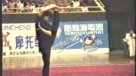 1995年全国武术套路锦标赛 女子传统项目 三类拳 020 鹰爪拳 刘青华(辽宁)