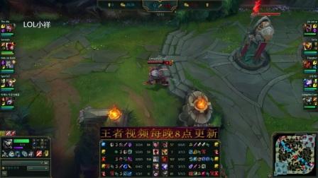 S7韩服王者傲之追猎者雷恩加尔狮子狗打野英雄联盟教学视频