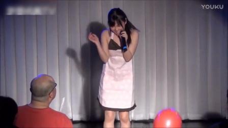 可爱性感日本女优歌唱