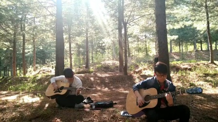 宽甸吉他  《一瞬间》  双吉他 吉他教学