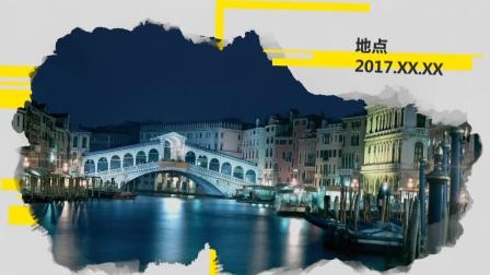 F9风景旅游 edius premiere 会声会影电子相册模板