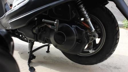 二手原装进口雅马哈凌鹰摩托车踏板125cc四冲程燃油助力代步女装