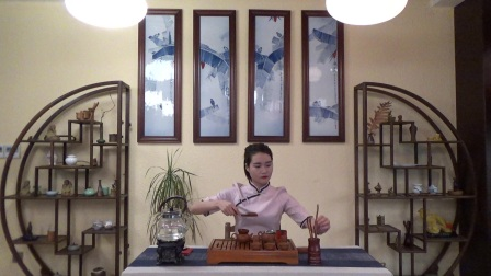 天晟茶艺培训第130期2号台湾十八道茶艺表演