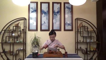 天晟茶艺培训第130期3号台湾十八道茶艺表演