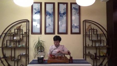 天晟茶艺培训第130期6号台湾十八道茶艺表演