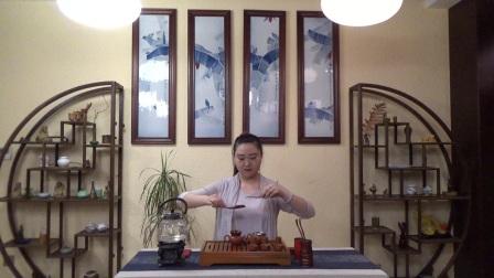 天晟茶艺培训第130期7号台湾十八道茶艺表演