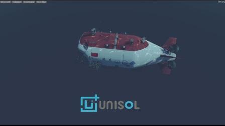 蛟龙号海上作业虚拟仿真  UNISOL Technologies