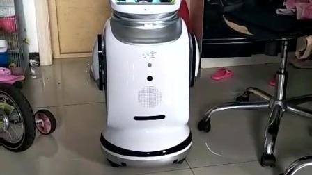 小宝机器人教小朋友