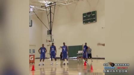 NBA曝光库里当年选秀试训视频! 灵动加无敌准初期