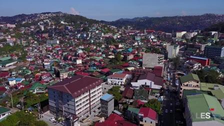 【菲英游学】Baguio WALES 学校鸟瞰,碧瑶专业的亲子学校,家长陪读可不上课