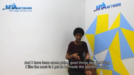 Internship Testimonial Video - Deusa Duarte (English Version) | MTA Network