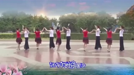 双人广场舞视频大全《春雨恋春风》附分解 双人舞三步踩-国语流畅