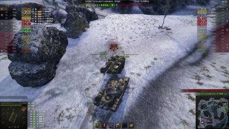 坦克世界赤色火风出品:常威!还说你不会武功?!