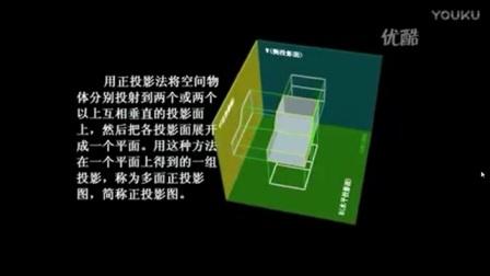 高中综合实践《三视图的形成及其投影规律》微课视频,张丽,陕西省首届微课大赛