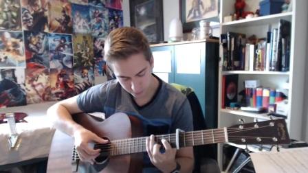 【吉他】RADWIMPS - Kataware Doki 你的名字 指弹吉他 CPNTV_演奏_音乐_bilibili_哔哩哔哩